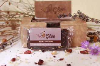 Gleerawbar double chocolate box example